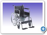 RS0207 Commode Wheel Chair Model FS609