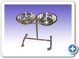 RS0285 Wash Hand Bowl Stand Double SM-06
